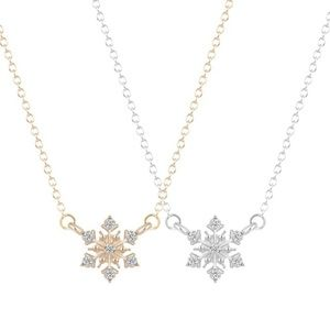 Jewelry - ❄️ Snowflake Necklace❄️